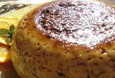 Recetas de cocina: Pudin con Salsa de Flan