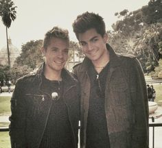 Adam and Sauli at Balboa Park 12-25-12