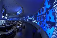 Beijing has the coolest traffic control room