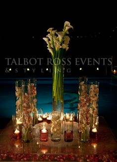 Wedding Ideas, floral arrangements for events in Puerto Vallarta. Talbot Ross Events.