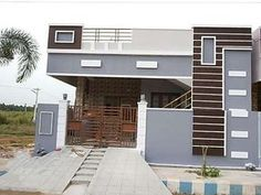 Independent House built-in 1000 square feet north facing, pop ceiling, vitrified tiles flooring, front elevation, wall care with emulation House Front Wall Design, Single Floor House Design, Village House Design, Kerala House Design, Small House Design, Modern House Design, Front Design, Bungalow Haus Design, Duplex House Design