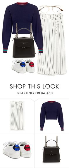 """Untitled #3584"" by bubbles-wardrobe ❤ liked on Polyvore featuring TIBI, Yves Saint Laurent, Fendi and Ray-Ban"