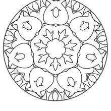 this beginners mandala coloring sheet is a fun design and easy to color mandala 6 coloring page can be decorated online with the interactive coloring