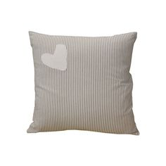 Hearts Range Stone - Scatter Cushion