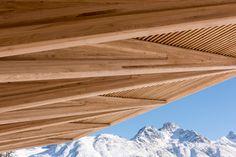 Foster + Partners, Kulm Hotel, St. Moritz, Eispavillon