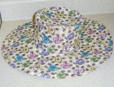 5 Tips for Sewing Your Own Hats: Wide Brim Hat Make from Wild Things! Hat Patterns To Sew, Sewing Patterns Free, Free Sewing, Pattern Sewing, Free Pattern, Sewing Basics, Sewing For Beginners, Basic Sewing, Sewing Tips