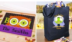 Personalized Trick-or-Treat Bags and Halloween Decor - Starting at $7 - http://frugalorfree.com/deals/personalized-trick-or-treat-bags-and-halloween-decor-starting-at-7/