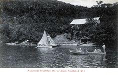Port of Spain, Trinidad Port Of Spain Trinidad, Retro, Vintage Postcards, Celestial, Summer, Outdoor, Photos, Art, Art Background