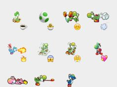 Yoshi Stickers Set | Telegram Stickers