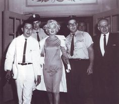 Marilyn Monroe in Mexico a few weeks before her untimely death, 1962.