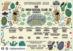 GD goes to Barcelona! We will be in HQ Barcelona on Friday the 9th to meet you! Come on over to say hi!  NEXT WEEK OFF-SPANNABIS 2018  @hqbarcelona  @mastersofrosin  @the_smoking.room  presents: . #monday 5 meet-and-greet with MILA JANSEN  @dab_a_doo_event #raffle . #tuesday 6 Workshop @jarzchile  Boppin Guindilla dj set . #wednesday 7 Workshop @caliterpenes  @mine_mia dj set . #thursday 8 Workshop @sasquashrosinpress  Meet-and-greet @frenchycannoli  @magicteapotrecords #musicshowcase…