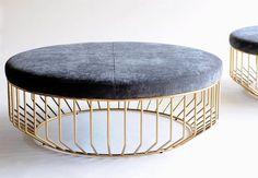 Phase #design #RezaFeiz wired ottoman | #interiordesign #furniture #furnituredesign by blenderspace