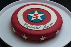 gateau d'anniversaire captain america - Google Search