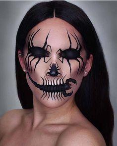 25 einzigartige Halloween Make-up-Ideen zu versuchen