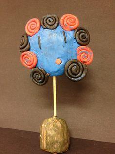 sculpture pâte à modeler - portrait