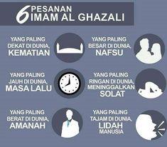 6 Pesanan Imam Al Ghazali Reminder Quotes, Self Reminder, Words Quotes, Hadith Quotes, Muslim Quotes, Hijab Quotes, Quran Quotes Inspirational, Islamic Love Quotes, Imam Ghazali Quotes