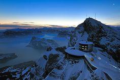 Webcam desde Monte Pilatus, Suiza