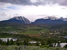 Silverthorne, CO - How lucky were we that my brother and sister in law owned a condo here?  We stayed here often, summer and winter.  Naturally, Dave went fly fishing, and I caught the shuttle to the Outlet Mall in town. RW