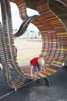 The Longest Bench, Littlehampton UK, Studio Weave, 2010 - Playscapes