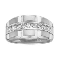 Fabulous Fred Meyer Jewelers Men us ct tw Diamond Wedding Ring