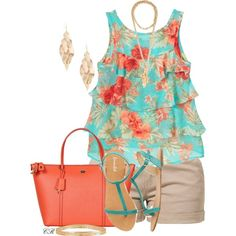 """""""Ruffle Tank Top"""" by colierollers on Polyvore"""