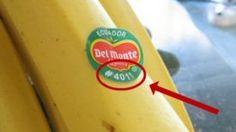 Si vous voyez ces étiquettes sur les fruits et les légumes, ne les achetez surtout pas ! Voici pourquoi …