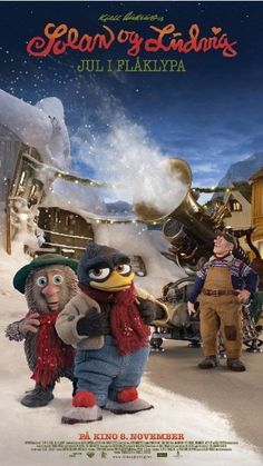 """""""Solan og Ludvig - Jul i Flåklypa (2013) The small town of Flåklypa is experiencing great lack of snow, why the inventor Reodor Felgen is asked to create a snow machine. However, things does not go as planned. Directed by Rasmus A. Sivertsen. With Kari Ann Grønsund, Trond Høvik, Trond Brænne, Kåre Conradi."""