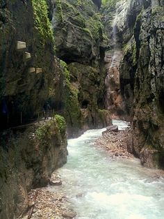Bavaria Partnach Gorge