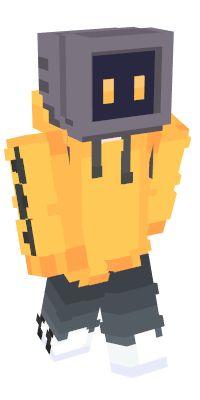 Minecraft Skins Robot, Minecraft Character Skins, Minecraft Tv, Minecraft Skins Aesthetic, Capas Minecraft, Minecraft Characters, Minecraft Construction, Amazing Minecraft, Minecraft Blueprints