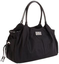 Amazon.com: Kate Spade New York Kate Spade Stevie Diaper Bag,Black,One Size: Shoes