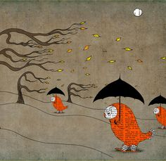 And again! Work by Juri Romanov -Orange Optimist on Etsy