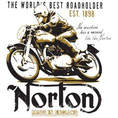 Norton Motorcycles Custom T-Shirt from 5one2 Designs.