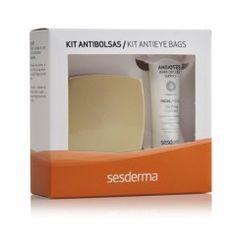 El Kit anti-bolsas de Sesderma está compuesto por Angioses, gel anti-ojeras y C-Vit, contorno de ojos. Un tratamiento perfecto para devolver toda la luminosidad a la mirada, disminuyendo las bolsas y las ojeras de forma visible. Atenúa el cansancio y...