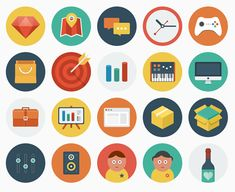 Articulate Rapid E-learning Blog - free icons via ballicons for the free e-learning template