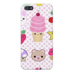 iPhone Fruit Teddy Cupcake Kawaii Case iPhone 5/5S Cover