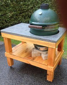 Custom Large Big Green Egg Table