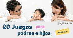 Games for parents and children / Family games caseros para la familia