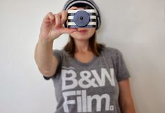 Cozy Gift Guide // Medium Control. #mediumcontrol Women's Tee and #twigcreative pixie camera