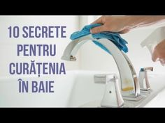 10 SECRETE PENTRU CURĂȚAREA BĂII - soluții naturale, nontoxice - YouTube 5 Minute Crafts, Cottages, Youtube, Fitness, Cabins, Country Homes, Cottage, Youtubers, Youtube Movies