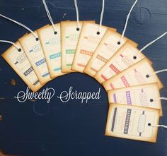 Special Delivery Christmas Tags YOU CHOOSE by SweetlyScrappedArt, $3.95