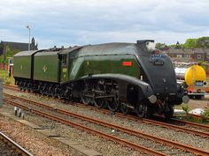 """LNER A4 Pacific class 4-6-2 No. 60019 """"Bittern"""" by Scotsguardsman100, via Flickr"""