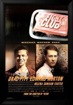 #116 Fight Club 1999 (Dir. David Fincher. With Edward Norton, Brad Pitt, Helena Bonham Carter, Meat Loaf, Jared Leto)
