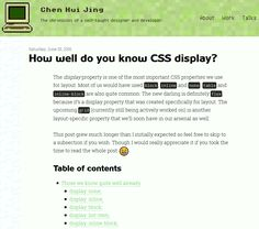 How well do you know CSS display? Coding Tutorials Code CSS CSS3 Flexbox Grid HTML HTML5 Resource Responsive Tutorial Web Design Web Development