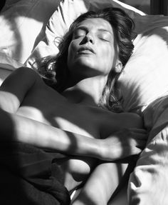 Daria Werbowy photographed by Mikael Jansson for Interview, September 2014.
