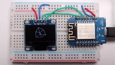 wireframe cube with MicroPython on an OLED display Martin Show, Filing System, Wireframe, Project Ideas, Projects, Cube, Display, Programming