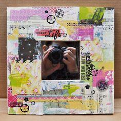 Ribbon, Glitter and Glue: Altered Frames