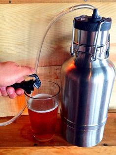 Homebrew Finds: Update: Drink Tanks Double Wall Growler and Mini Keg - $107 Shipped