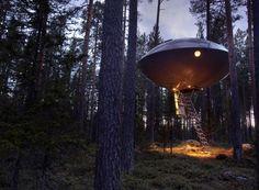 Treehotel The Ufo, Svezia