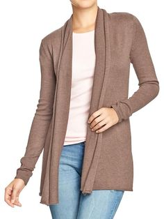 Old Navy | Women's Roll-Edge Open-Front Sweaters