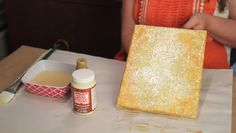Video: How to Antique With Mod Podge